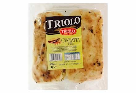 Ciabbatta Pizza Triolo